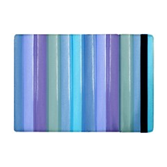Provence Fields Lavender Pattern Apple Ipad Mini Flip Case by DanaeStudio