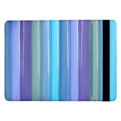 Provence Fields Lavender Pattern Samsung Galaxy Tab Pro 12 2  Flip Case by DanaeStudio
