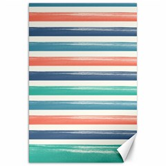 Summer Mood Striped Pattern Canvas 20  X 30