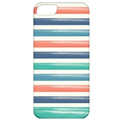 Summer Mood Striped Pattern Apple Iphone 5 Classic Hardshell Case by DanaeStudio