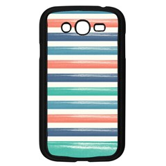 Summer Mood Striped Pattern Samsung Galaxy Grand Duos I9082 Case (black) by DanaeStudio
