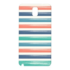 Summer Mood Striped Pattern Samsung Galaxy Note 3 N9005 Hardshell Back Case by DanaeStudio