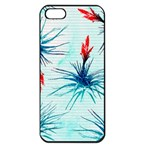 Tillansia Flowers Pattern Apple iPhone 5 Seamless Case (Black) Front