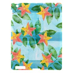 Tropical Starfruit Pattern Apple Ipad 3/4 Hardshell Case by DanaeStudio