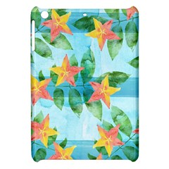 Tropical Starfruit Pattern Apple Ipad Mini Hardshell Case by DanaeStudio
