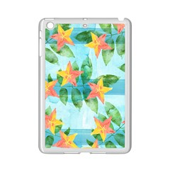 Tropical Starfruit Pattern Ipad Mini 2 Enamel Coated Cases by DanaeStudio