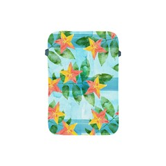 Tropical Starfruit Pattern Apple Ipad Mini Protective Soft Cases by DanaeStudio