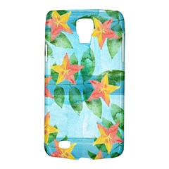Tropical Starfruit Pattern Galaxy S4 Active by DanaeStudio