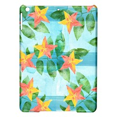 Tropical Starfruit Pattern Ipad Air Hardshell Cases by DanaeStudio