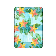 Tropical Starfruit Pattern Ipad Mini 2 Hardshell Cases by DanaeStudio