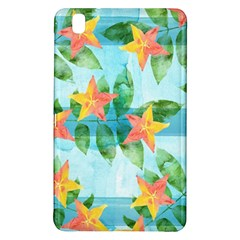 Tropical Starfruit Pattern Samsung Galaxy Tab Pro 8 4 Hardshell Case by DanaeStudio