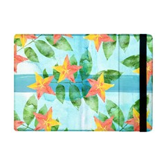 Tropical Starfruit Pattern Ipad Mini 2 Flip Cases by DanaeStudio