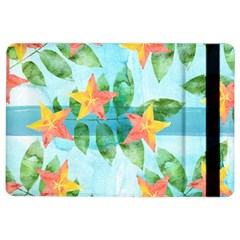 Tropical Starfruit Pattern Ipad Air 2 Flip by DanaeStudio