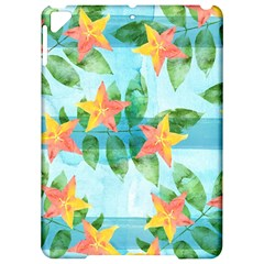 Tropical Starfruit Pattern Apple Ipad Pro 9 7   Hardshell Case by DanaeStudio