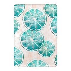 Turquoise Citrus And Dots Samsung Galaxy Tab Pro 10 1 Hardshell Case