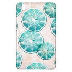 Turquoise Citrus And Dots Samsung Galaxy Tab Pro 8 4 Hardshell Case