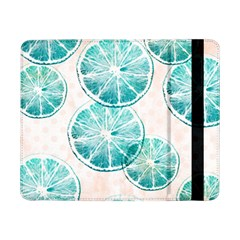 Turquoise Citrus And Dots Samsung Galaxy Tab Pro 8 4  Flip Case