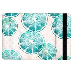 Turquoise Citrus And Dots Ipad Air Flip
