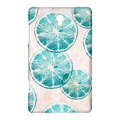 Turquoise Citrus And Dots Samsung Galaxy Tab S (8 4 ) Hardshell Case