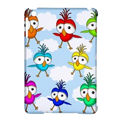 Cute Colorful Birds  Apple Ipad Mini Hardshell Case (compatible With Smart Cover) by Valentinaart