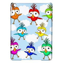 Cute Colorful Birds  Ipad Air Hardshell Cases by Valentinaart
