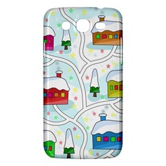 Winter Magical Landscape Samsung Galaxy Mega 5 8 I9152 Hardshell Case  by Valentinaart