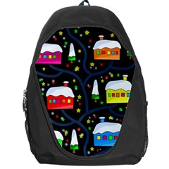 Winter Magical Night Backpack Bag