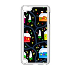 Winter Magical Night Apple Ipod Touch 5 Case (white) by Valentinaart