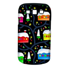 Winter Magical Night Samsung Galaxy S Iii Classic Hardshell Case (pc+silicone) by Valentinaart
