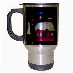 Magical Xmas Night Travel Mug (silver Gray)