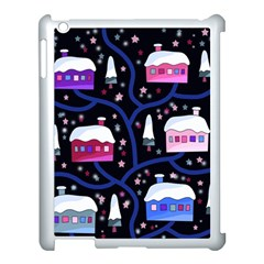 Magical Xmas Night Apple Ipad 3/4 Case (white) by Valentinaart