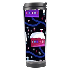 Magical Xmas Night Travel Tumbler by Valentinaart