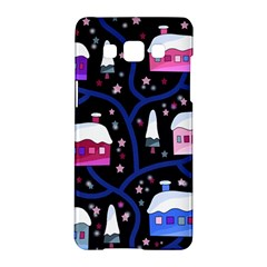 Magical Xmas Night Samsung Galaxy A5 Hardshell Case  by Valentinaart