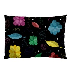 Colorful Floral Design Pillow Case (two Sides)