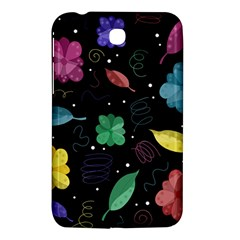 Colorful Floral Design Samsung Galaxy Tab 3 (7 ) P3200 Hardshell Case  by Valentinaart