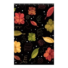 Autumn Flowers  Shower Curtain 48  X 72  (small)  by Valentinaart