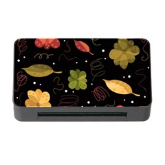 Autumn Flowers  Memory Card Reader With Cf by Valentinaart