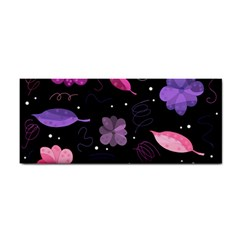 Purple And Pink Flowers  Cosmetic Storage Cases