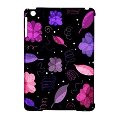 Purple And Pink Flowers  Apple Ipad Mini Hardshell Case (compatible With Smart Cover) by Valentinaart