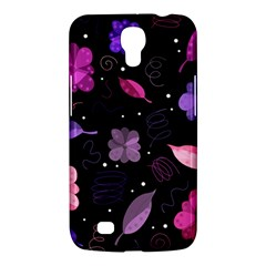 Purple And Pink Flowers  Samsung Galaxy Mega 6 3  I9200 Hardshell Case by Valentinaart