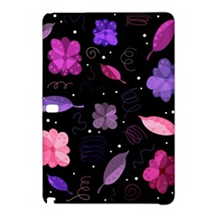 Purple And Pink Flowers  Samsung Galaxy Tab Pro 12 2 Hardshell Case by Valentinaart