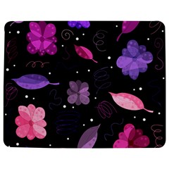 Purple And Pink Flowers  Jigsaw Puzzle Photo Stand (rectangular) by Valentinaart