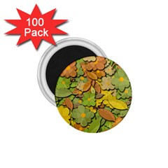 Autumn Flowers 1 75  Magnets (100 Pack)  by Valentinaart