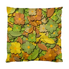 Autumn Flowers Standard Cushion Case (one Side) by Valentinaart