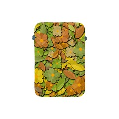 Autumn Flowers Apple Ipad Mini Protective Soft Cases by Valentinaart