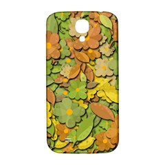 Autumn Flowers Samsung Galaxy S4 I9500/i9505  Hardshell Back Case by Valentinaart