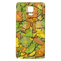 Autumn Flowers Galaxy Note 4 Back Case