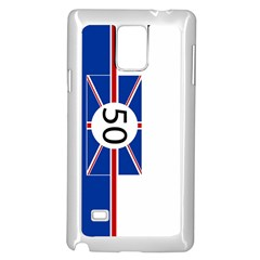 Uk Samsung Galaxy Note 4 Case (white) by PocketRacers