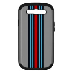 Martini No Logo Samsung Galaxy S Iii Hardshell Case (pc+silicone) by PocketRacers