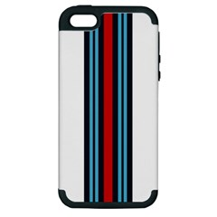 Martini White No Logo Apple Iphone 5 Hardshell Case (pc+silicone) by PocketRacers